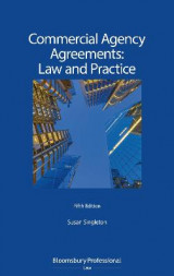 Omslag - Commercial Agency Agreements: Law and Practice