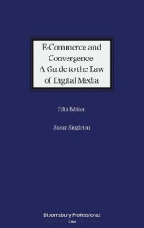 Omslag - E-Commerce and Convergence: A Guide to the Law of Digital Media