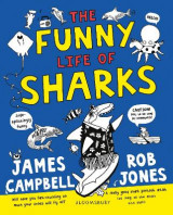 Omslag - The Funny Life of Sharks
