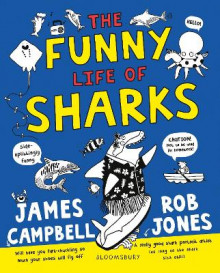 The Funny Life of Sharks av James Campbell (Heftet)