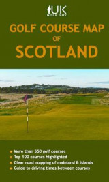 Omslag - Golf Course Map of Scotland