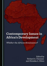 Omslag - Contemporary Issues in Africa's Development
