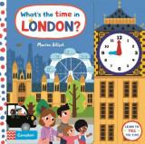 Omslag - What's the Time in London?