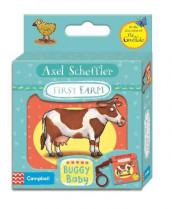Axel Scheffler First Farm Buggy Book av Axel Scheffler (Kartonert)