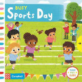 Omslag - Busy Sports Day