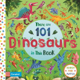 Omslag - There are 101 Dinosaurs in This Book