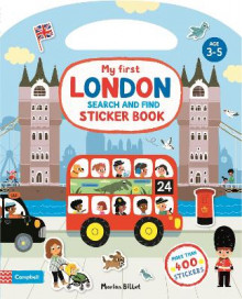 My First Search and Find London Sticker Book av Campbell Books (Heftet)