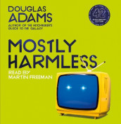 Mostly Harmless av Douglas Adams (Lydbok-CD)