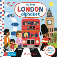My First London Alphabet av Campbell Books (Kartonert)