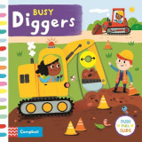 Omslag - Busy Diggers