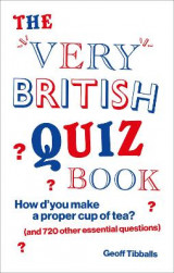 Omslag - The Very British Quiz Book