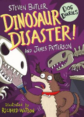 Dog Diaries: Dinosaur Disaster! av Steven Butler og James Patterson (Heftet)