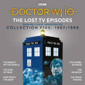 Doctor Who: The Lost TV Episodes Collection Five av Robert Holmes, Mervyn Haisman & Henry Lincoln, Victor Pemberton, Derrick Sherwin og David Whitaker (Lydbok-CD)