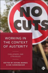 Omslag - Working in the Context of Austerity