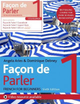 Omslag - Facon de Parler 1 French Beginner's course 6th edition