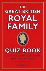 Omslag - The Great British Royal Family Quiz Book