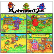 Mushroom Tales - Volumes 1-4 (Four Books in One!) av David Freeman og Connie Robayo (Heftet)