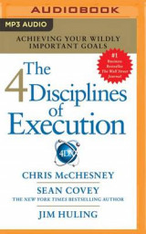Omslag - Stephen R. Covey's the 4 Disciplines of Execution