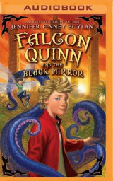 Omslag - Falcon Quinn and the Black Mirror
