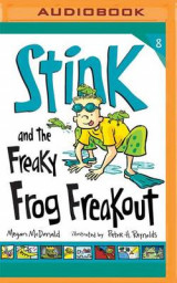 Omslag - Stink and the Freaky Frog Freakout