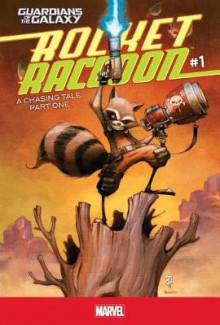 Rocket Raccoon #1: A Chasing Tale Part One av Skottie Young (Innbundet)