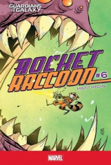 Rocket Raccoon #6: Misfit Mechs av Skottie Young (Innbundet)