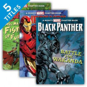 Mighty Marvel Chapter Books Set 2 av Steve Behling, Calliope Glass og Brandon T. Snider (Innbundet)