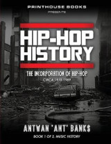 Omslag - Hip-Hop History (Book 1 of 2)