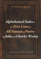Omslag - Alphabetical Index to the First Lines of All Stanzas of Poetry by John and Charles Wesley