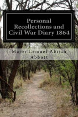 Omslag - Personal Recollections and Civil War Diary 1864