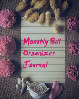 Omslag - Monthly Bill Organizer Journal