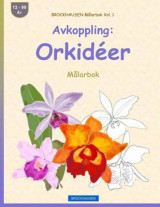 Omslag - Brockhausen Malarbok Vol. 1 - Avkoppling
