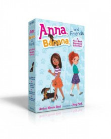 Anna, Banana, and Friends--A Four-Book Paperback Collection av Anica Mrose Rissi (Heftet)