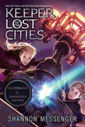 Keeper of the Lost Cities Illustrated & Annotated Edition av Shannon Messenger (Heftet)