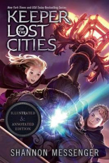Keeper of the Lost Cities Illustrated & Annotated Edition av Shannon Messenger (Innbundet)