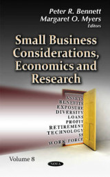 Omslag - Small Business Considerations, Economics & Research: Volume 8