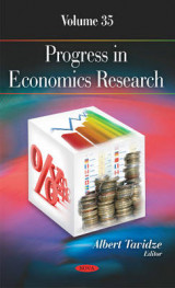 Omslag - Progress in Economics Research: Volume 35