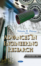 Omslag - Advances in Engineering Research: Volume 16