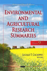 Omslag - Environmental & Agricultural Research Summaries (with Biographical Sketches): Volume 9