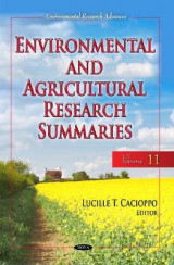 Omslag - Environmental & Agricultural Research Summaries (with Biographical Sketches): Volume 11