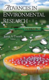 Omslag - Advances in Environmental Research: Volume 56