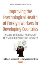 Omslag - Improving the Psychological Health of Foreign Workers in Developing Countries