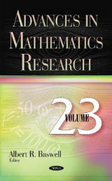 Omslag - Advances in Mathematics Research