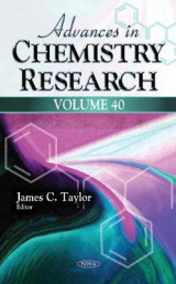 Omslag - Advances in Chemistry Research