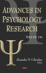 Omslag - Advances in Psychology Research. Volume 139