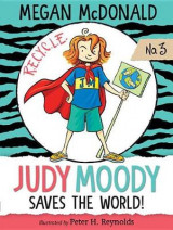 Omslag - Judy Moody Saves the World!