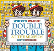 Where's Waldo? Double Trouble at the Museum: The Ultimate Spot-The-Difference Book av Martin Handford (Innbundet)