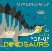 My First Pop-Up Dinosaurs av Owen Davey (Innbundet)
