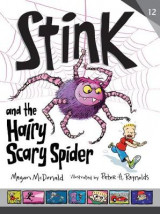 Omslag - Stink and the Hairy, Scary Spider