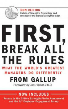 First, Break All the Rules av Marcus Buckingham og Curt Coffman (Lydbok-CD)